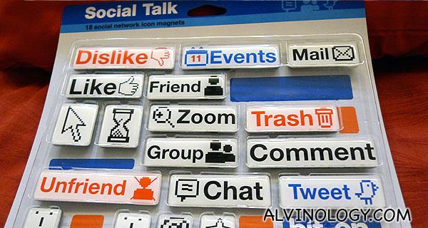 Social Media Magnets!