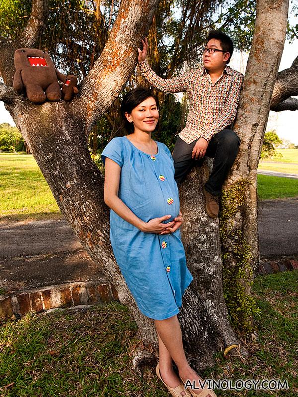 Rachel's Maternity (36 weeks) Photo Shoot - Alvinology