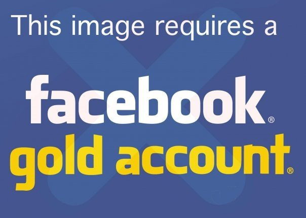 """Trolling Your Facebook Friends with a """"Facebook® Gold™ Account"""""""