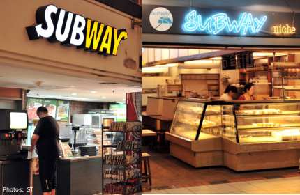 International Sandwich chain Subway vs Singapore's Subway Niche