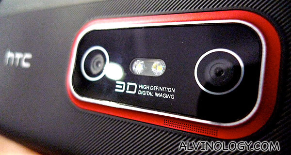 I can now take 3D images with HTC EVO 3D