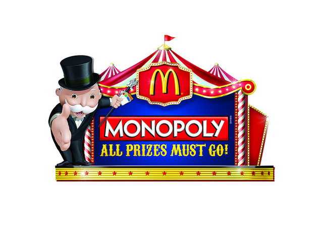 McDonald's Monopoly Game returns with over 3 million prizes to be won