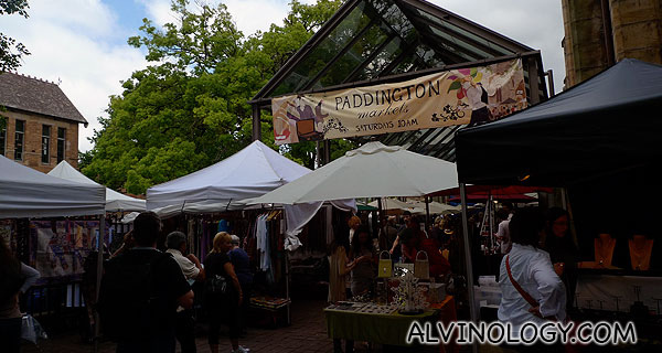 [Sydney, New South Wales Escapade with HTC EVO 3D] - Shopping at Paddington Markets, Oxford Street and Glebe Markets - Alvinology