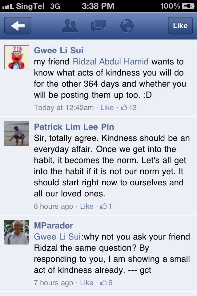 "Perform ""A Small Act of Kindness"" by Responding on Other's Facebook Posts - Alvinology"