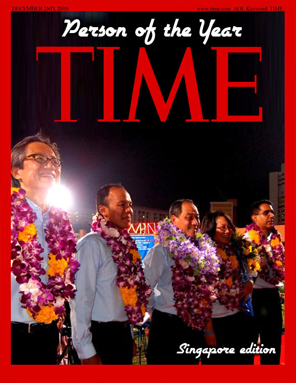 TIME Person of the Year 2011 (Singapore edition)