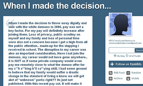 [Internet Meme] When I made the decision...  - Alvinology