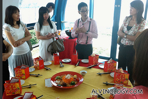 Ushering in the Year of the Dragon at Singapore Flyer