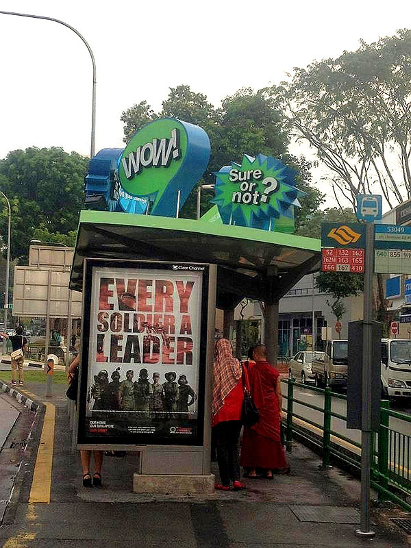 And the Best Outdoor Ad Placement of the Year Goes to… Standard Chartered Bank!