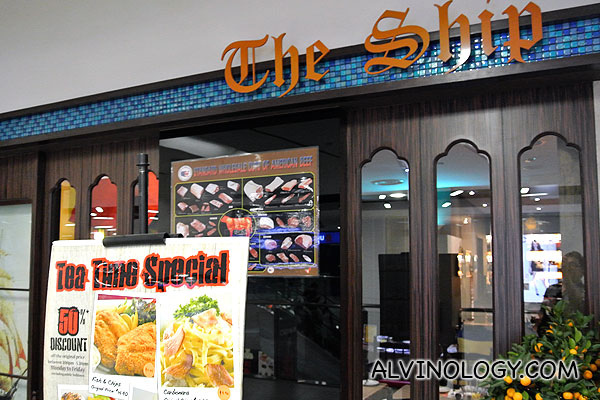 The Ship Restaurant & Bar (船餐厅酒店) @ Nex Mall - Alvinology