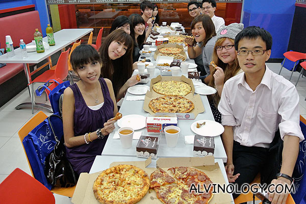 Domino's Double Loaded Chicken Promotion – Bloggers Tasting @ Domino's Kovan