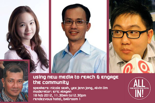 All In! Young Writers Media Festival 2012 – Using New Media to Reach & Engage the Community
