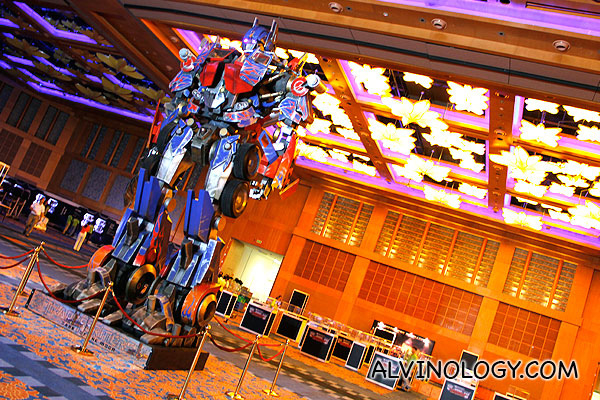 2012 Transformers Cybertron Con @ Resorts World Sentosa - Media Preview - Alvinology
