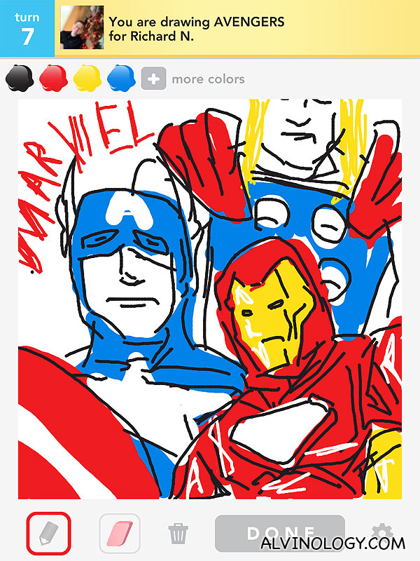 Alvinology's Best of Draw Something