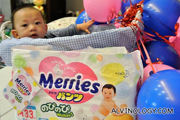 Kao Singapore Introduces Merries Diapers to Singapore from Japan