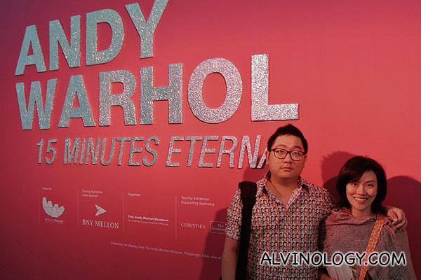 Andy Warhol – 15 Minutes Eternal Exhibition @ ArtScience Museum, Marina Bay Sands