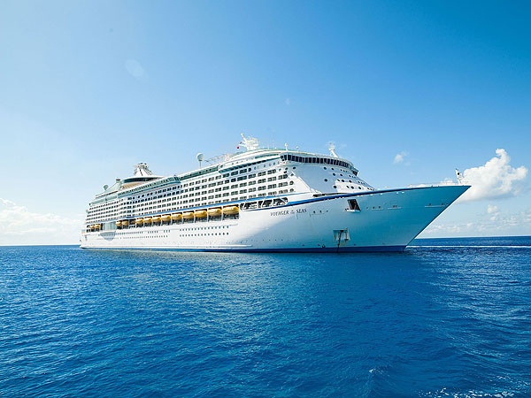 Royal Caribbean International's Voyager of the Seas' arrived in Singapore at the new Marina Bay Cruise Centre