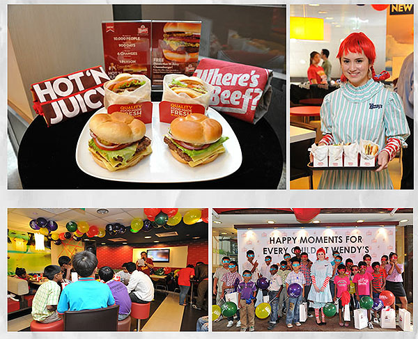 Wendy's Brings the Spirit of Dave to Singapore with the New Dave's Hot 'N Juicy™ Cheeseburger