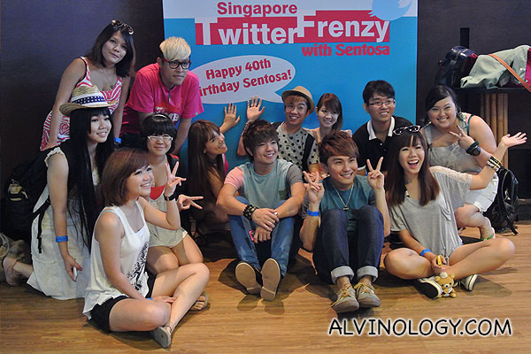 First Singapore Twitter Frenzy @ Wavehouse, Sentosa