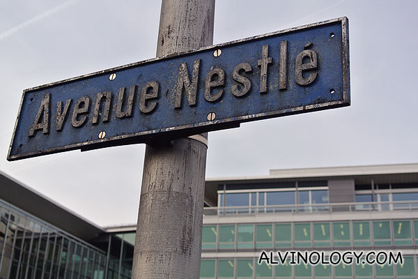 Switzerland with Nestlé – Administration Building Nestlé (Nestle HQ) and meeting the Nestlé Global Digital Acceleration Team