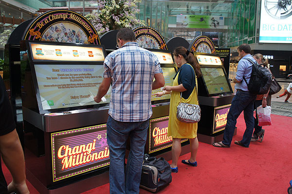 Be a Changi Millionaire by shopping at Singapore Changi Airport!
