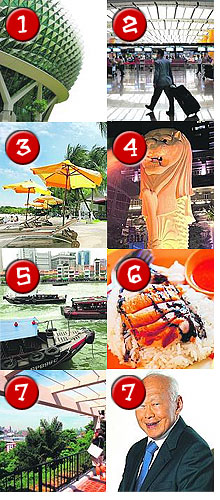 Singapore's Eight Wonders