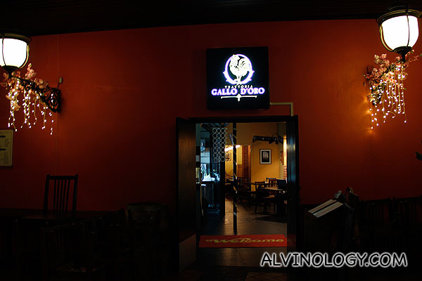 Trattoria Gallo D'Oro @ Central Mall