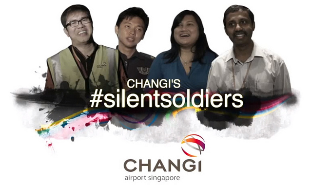 Changi Airport's #SilentSoldiers