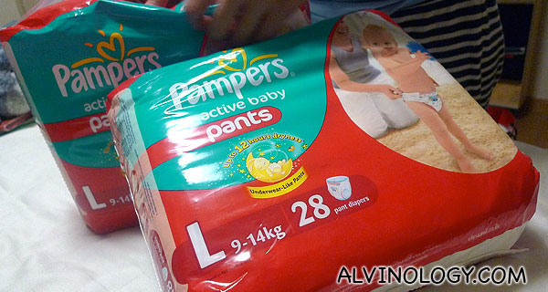 Parenting with Pampers – Part 2
