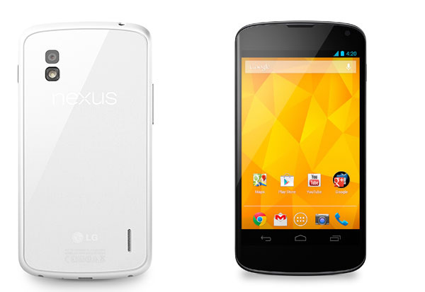 LG introduces new Nexus 4 White - Alvinology