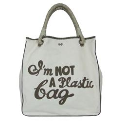 "DIY ""I am not a Plastic Bag"" Bag - Alvinology"
