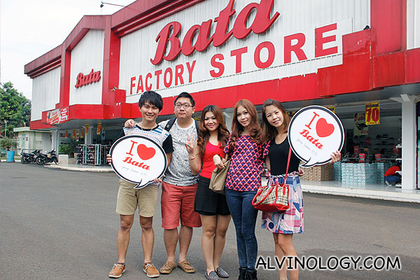 Visiting Bata Factory in Jakarta, Indonesia