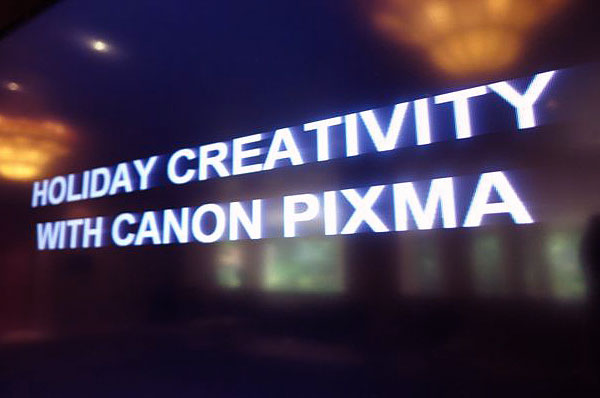 Holiday Creativity with Canon PIXMA