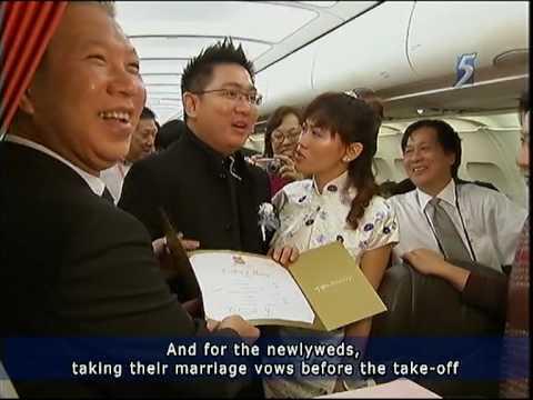 Alvin and Rachel's Plane Solemnisation Revisited on Jetstar's Jump Seat Blog