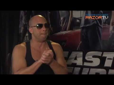 Fast & Furious 6 – Interview with Vin Diesel, Michelle Rodriguez, Luke Evans and Gina Carano