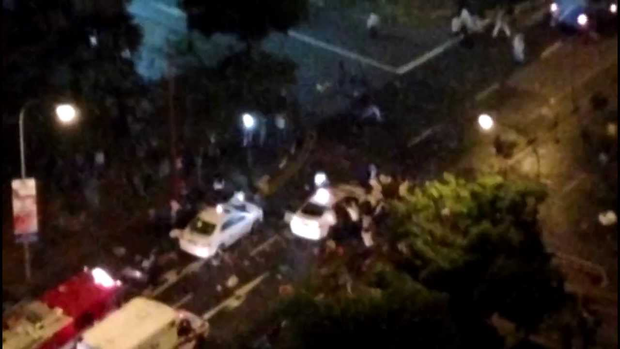 Riot in Singapore's Little India