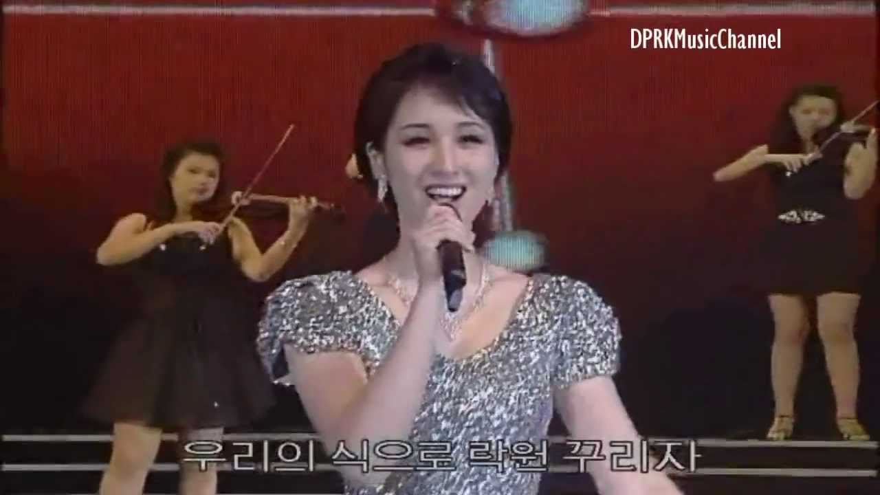 South Korean Girl Band vs North Korean Girl Band