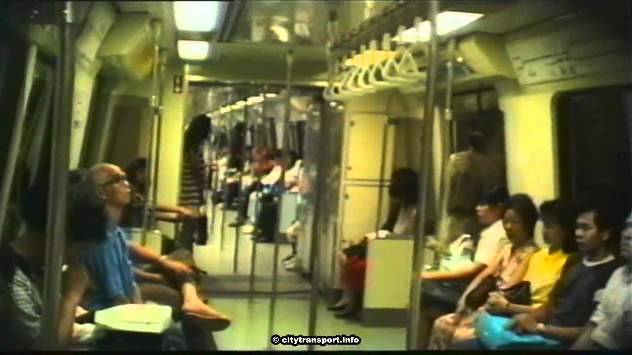 The Good Old Days: Singapore MRT Trains in 1991