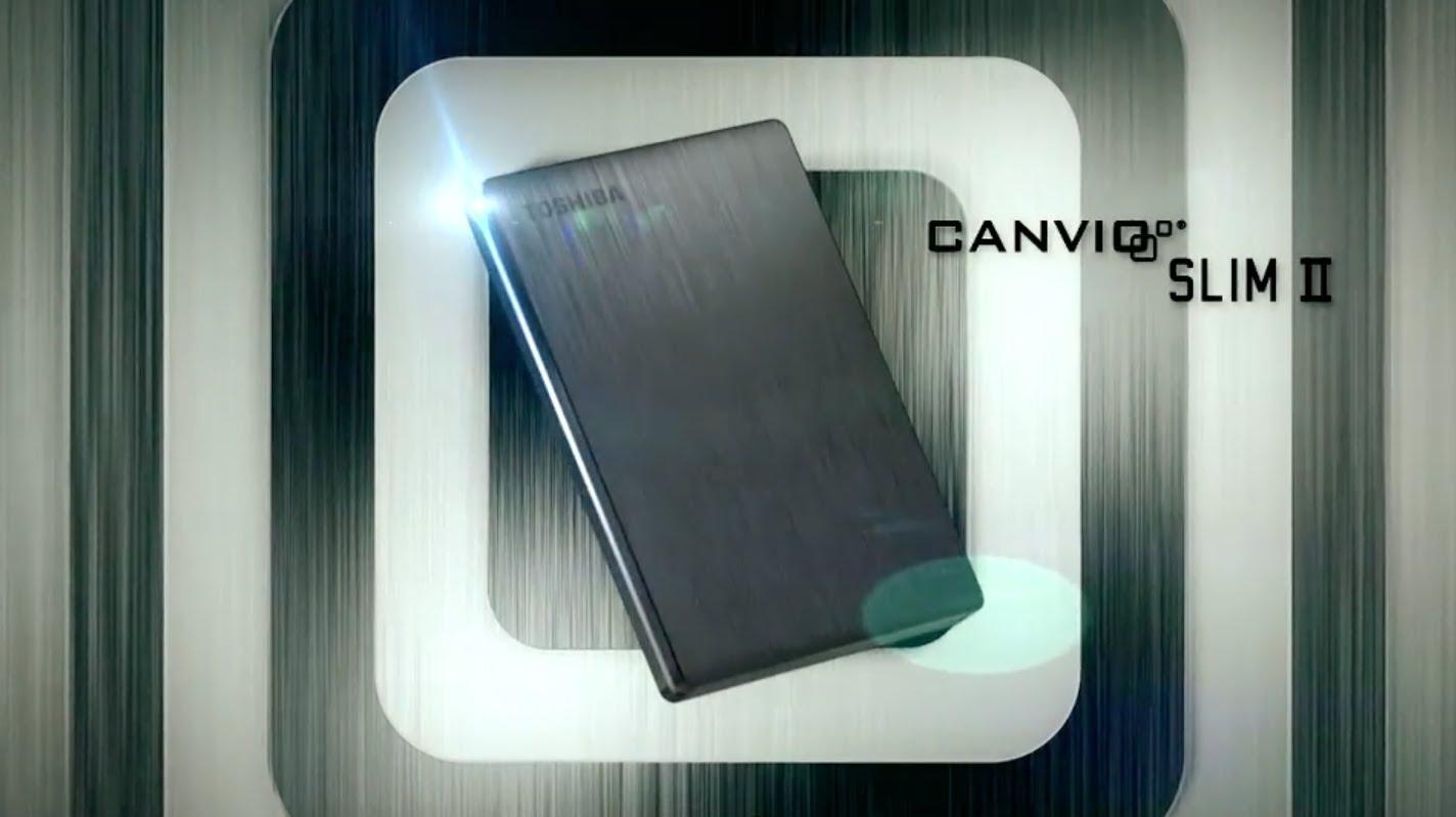 TOSHIBA Canvio Portable Hard Drive @ COMEX 2013