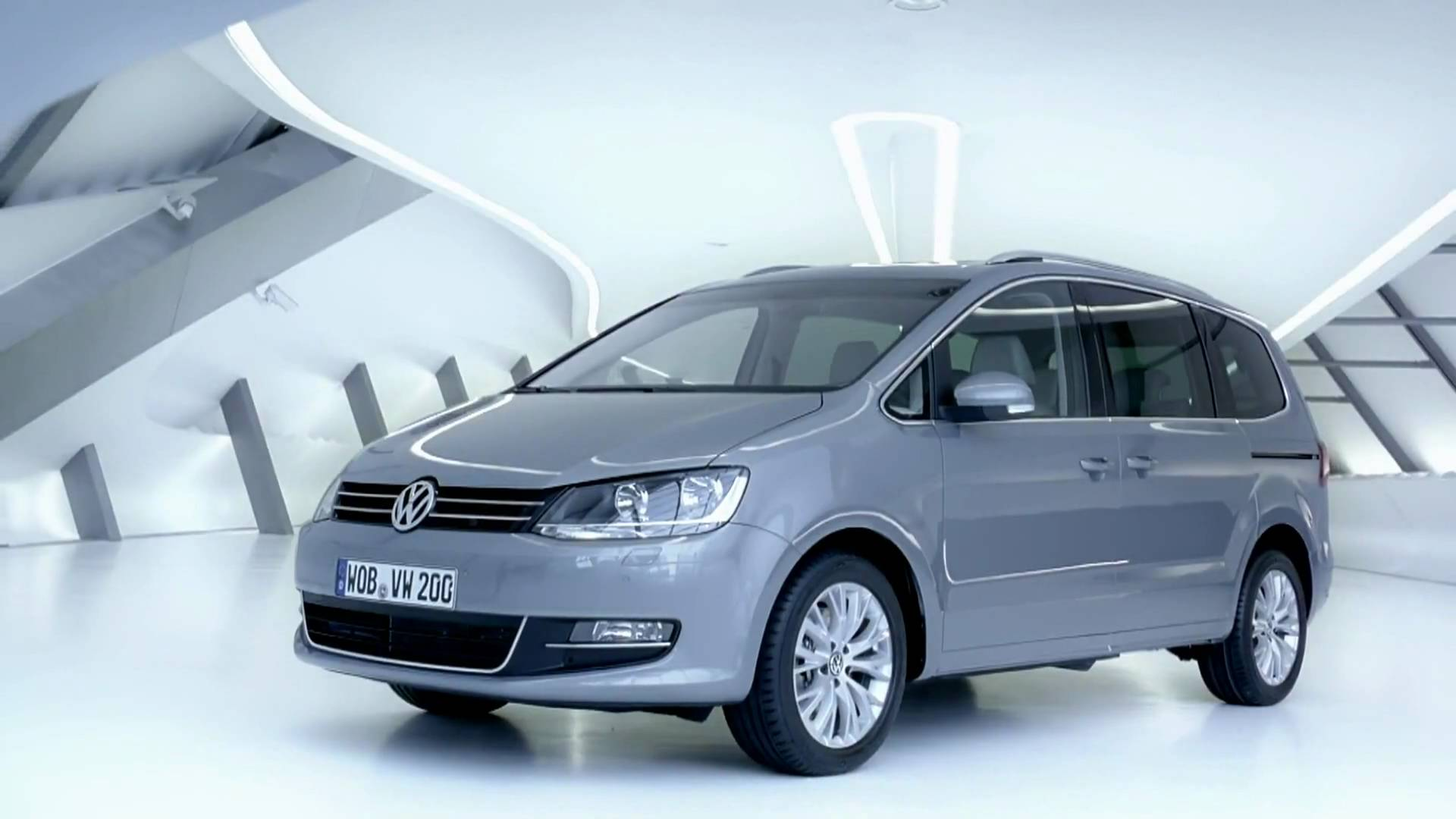 Win the Volkswagen Sharan (for a week)!