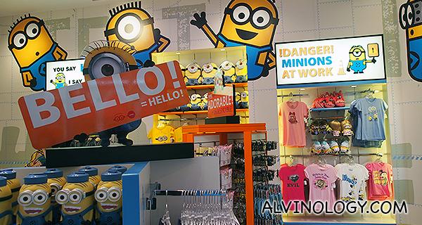 The NEW Minion Mart @ Universal Studio Singapore, Resorts World Sentosa