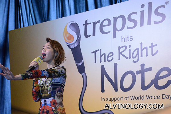 World Voice Day 2014: Olivia Ong launches The Right Note campaign