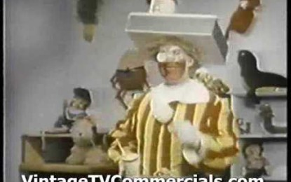First McDonald's Commercial – Creeepy!
