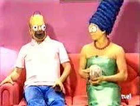 Los Simpson: Creepy Live Action Spanish Version of The Simpsons - Alvinology