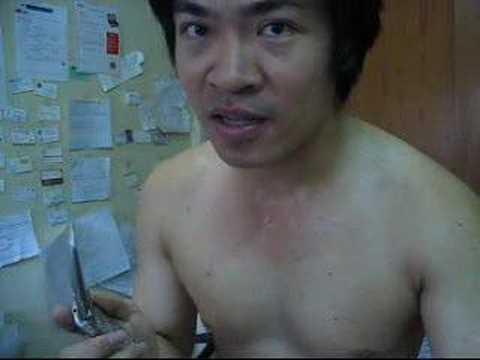 Want a body like Steven Lim?