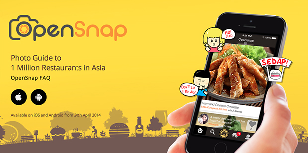 OpenRice.com.sg Launches Mobile Food App, OpenSnap
