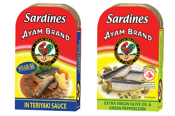 Ayam Brand celebrates NS; introduces newly-packaged sardine tins with slim, modern design