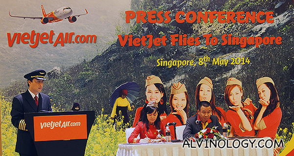 Another Budget Carrier, Vietnam's VietJet Air Enters into Singapore