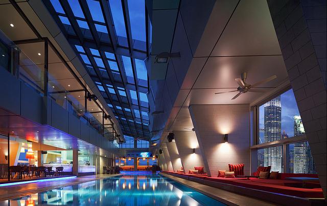 Staying at Traders Hotel, Kuala Lumpur