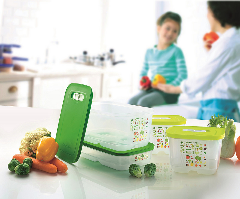 Tupperware Brands' VentSmart – Keep your Greens, Fresher Longer