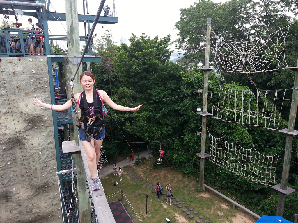 MegaZip Adventure Park – Above it all